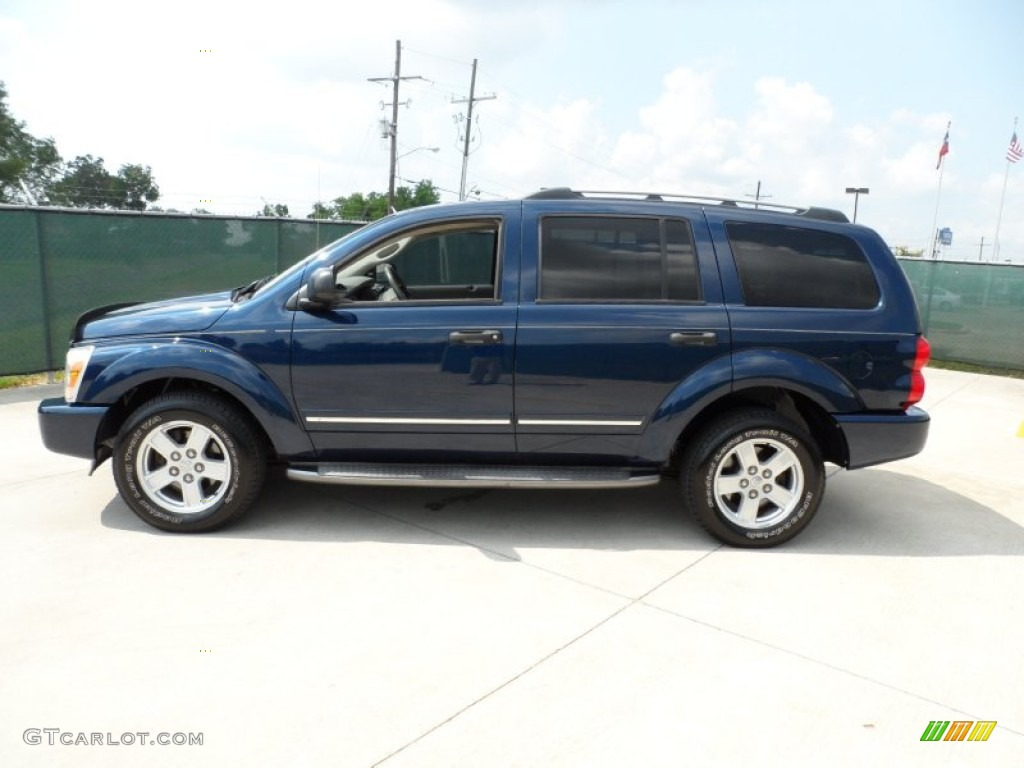 patriot blue pearl 2006 dodge durango limited exterior. Black Bedroom Furniture Sets. Home Design Ideas