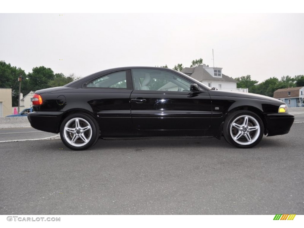 Black 2002 volvo c70 ht coupe exterior photo 50345709