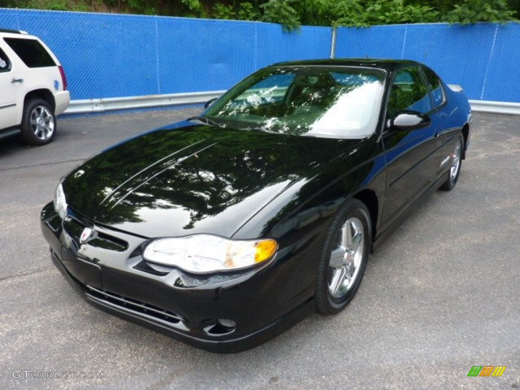 black 2004 chevrolet monte carlo intimidator ss exterior. Black Bedroom Furniture Sets. Home Design Ideas