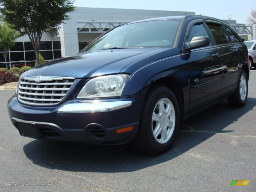 2005 midnight blue pearl chrysler pacifica touring 50329501 car color galleries. Black Bedroom Furniture Sets. Home Design Ideas