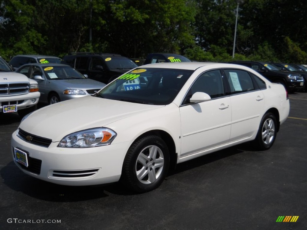 White 2007 Chevrolet Impala Ls Exterior Photo 50350746