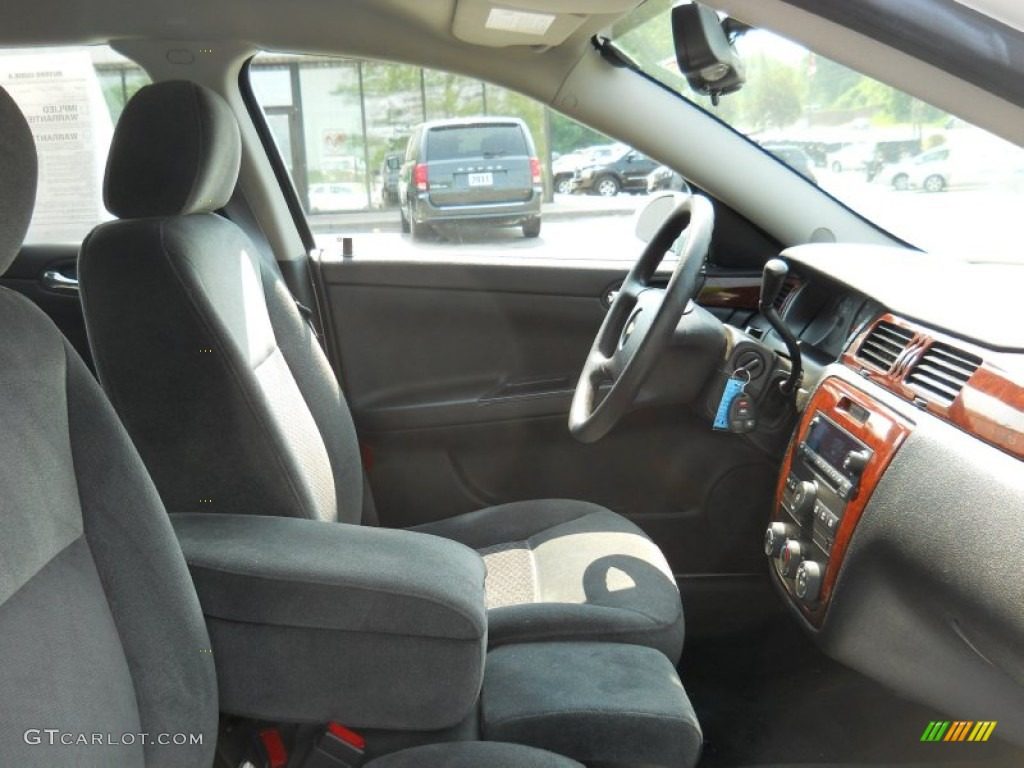 Ebony Black Interior 2007 Chevrolet Impala Ls Photo