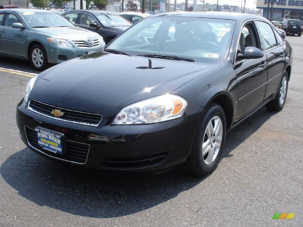 2008 Chevy Impala Black Www Proteckmachinery Com