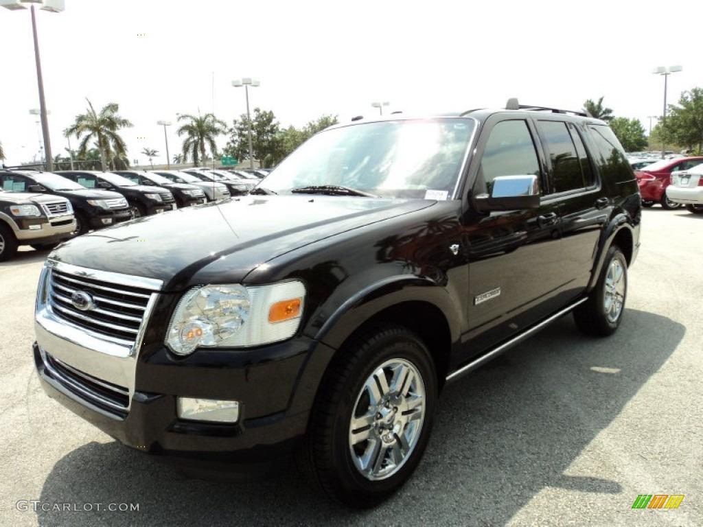 Black 2008 Ford Explorer Limited Exterior Photo 50353119