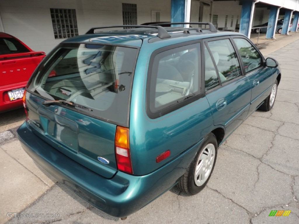 pacific green metallic 1997 ford escort lx wagon exterior. Black Bedroom Furniture Sets. Home Design Ideas
