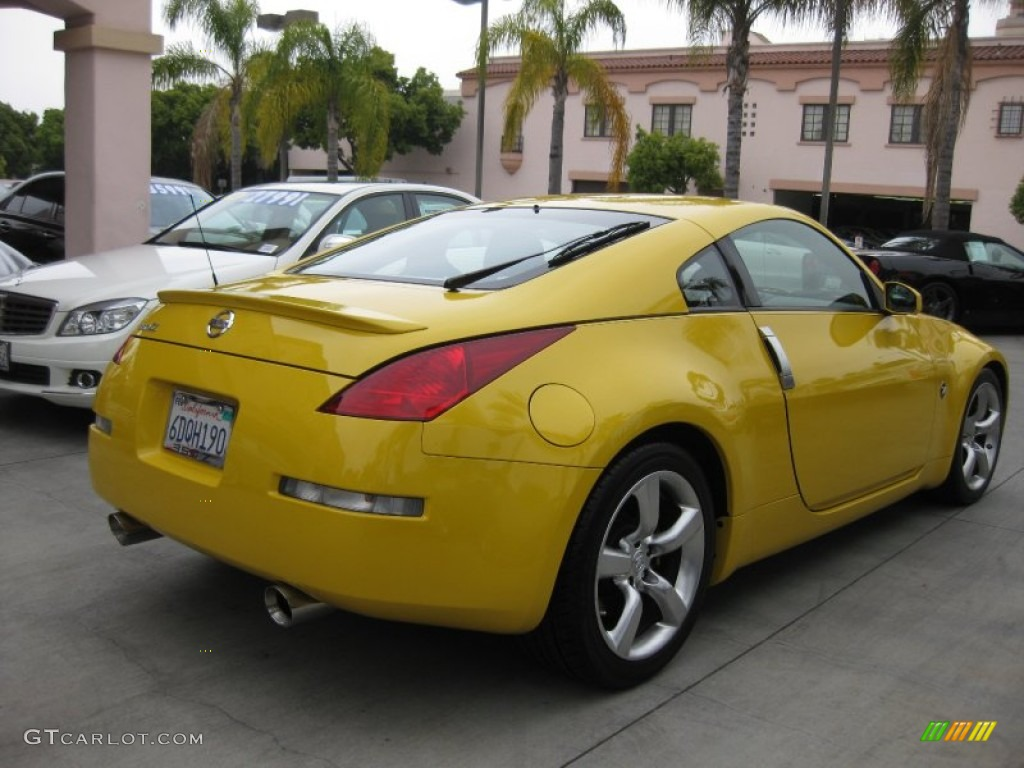 ultra yellow metallic 2005 nissan 350z touring coupe exterior photo 50360796. Black Bedroom Furniture Sets. Home Design Ideas