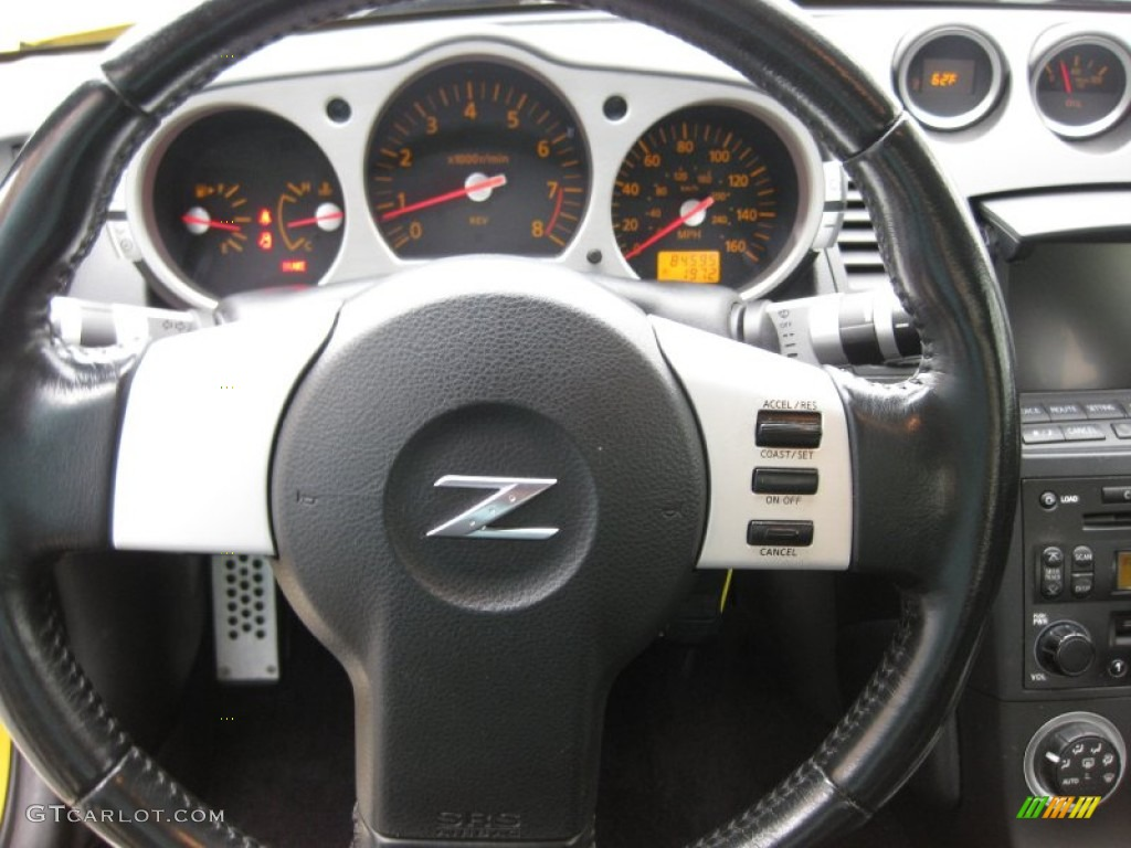 2005 Nissan 350z Touring Coupe Gauges Photo 50361042