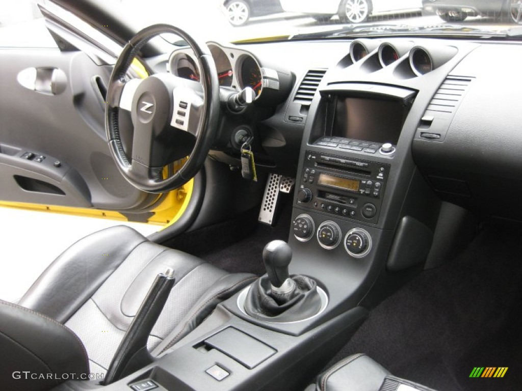charcoal interior 2005 nissan 350z touring coupe photo. Black Bedroom Furniture Sets. Home Design Ideas