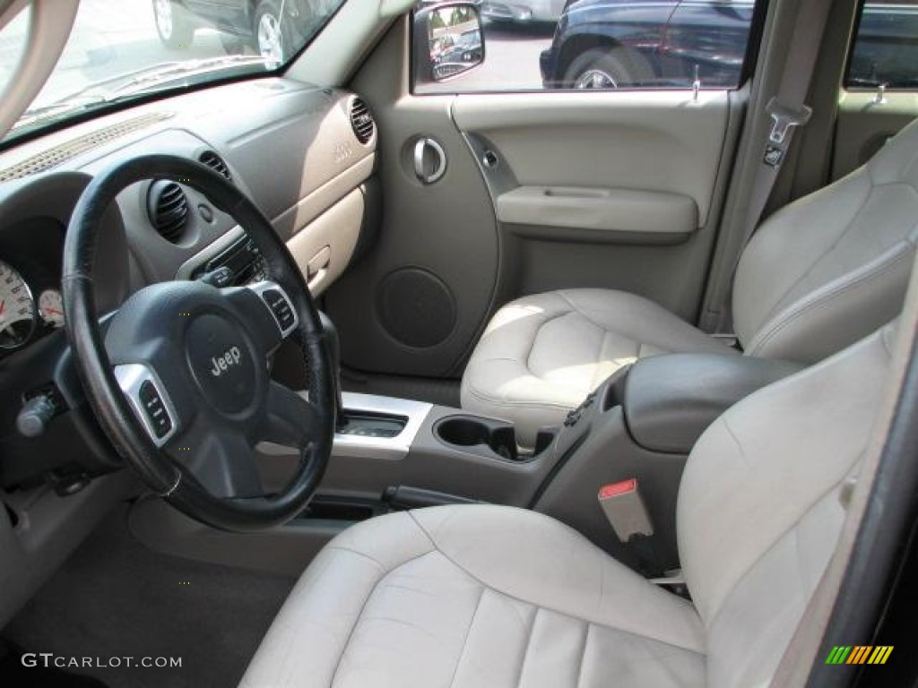 taupe interior 2002 jeep liberty limited photo 50363784. Black Bedroom Furniture Sets. Home Design Ideas