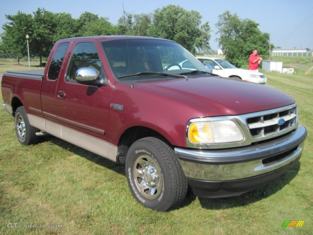 1997 f250 extended cab red