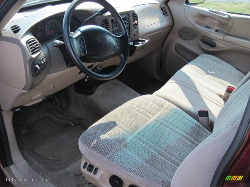 prairie tan interior 1997 ford f250 xlt extended cab photo. Black Bedroom Furniture Sets. Home Design Ideas
