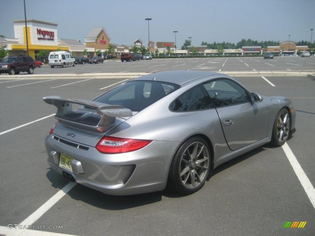 Gt Silver Metallic 2010 Porsche 911 Gt3 Exterior Photo