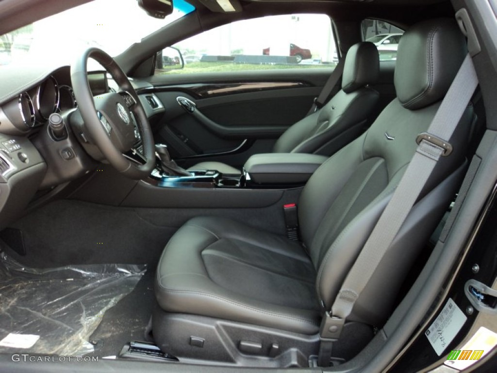 2011 Black Raven Cadillac Cts V Coupe 50329728 Photo 7