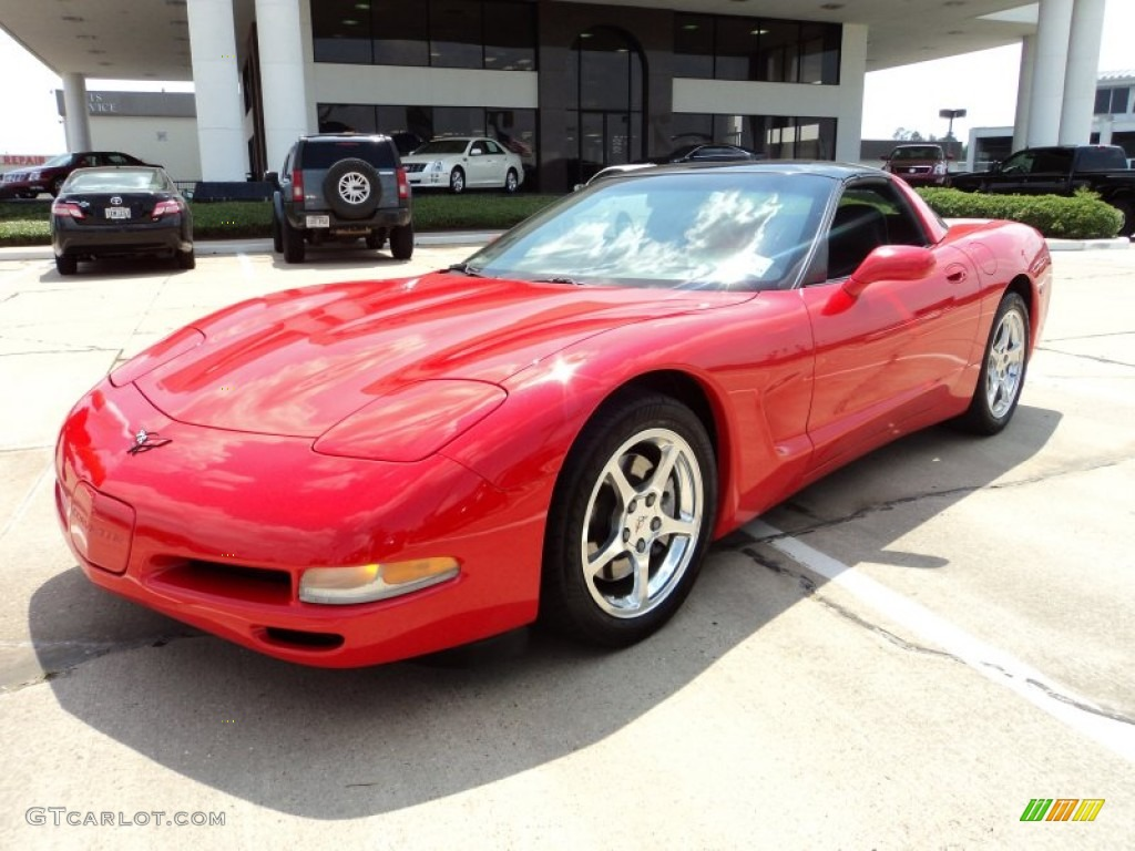 2002 Torch Red Chevrolet Corvette Coupe 50329734