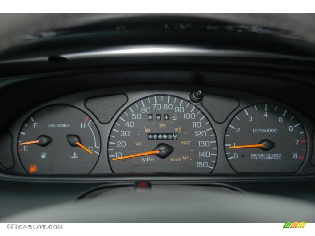 1997 Ford Taurus SHO Gauges Photo #50379229 | GTCarLot.com