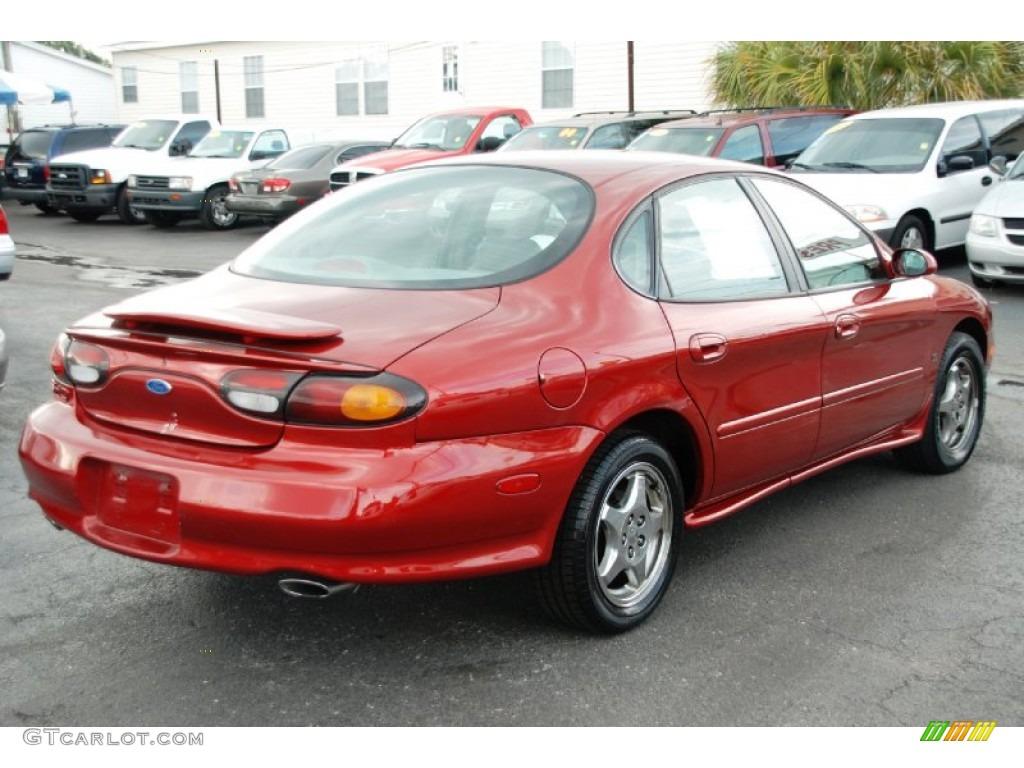 Toreador red metallic 1997 ford taurus sho exterior photo 50379244