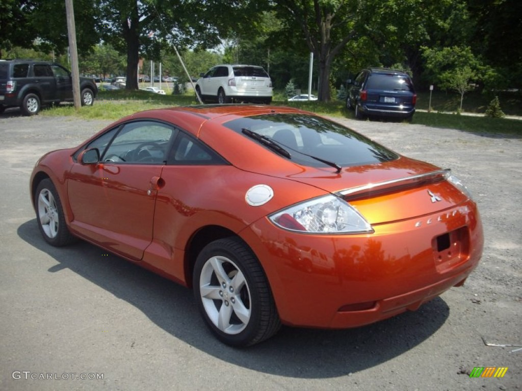 Sunset Pearlescent 2007 Mitsubishi Eclipse Gs Coupe