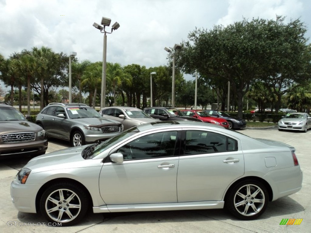 Liquid Silver Metallic 2007 Mitsubishi Galant Ralliart Exterior Photo 50390694 Gtcarlot Com