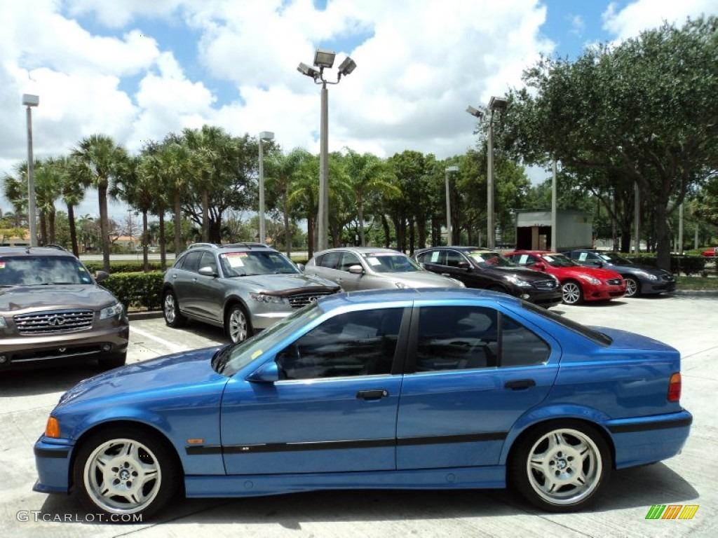 Estoril Blue Metallic 1998 BMW M3 Sedan Exterior Photo #50391654 ...