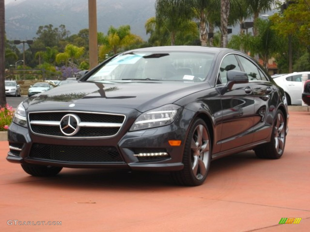 2012 steel grey metallic mercedes benz cls 550 coupe for Mercedes benz color