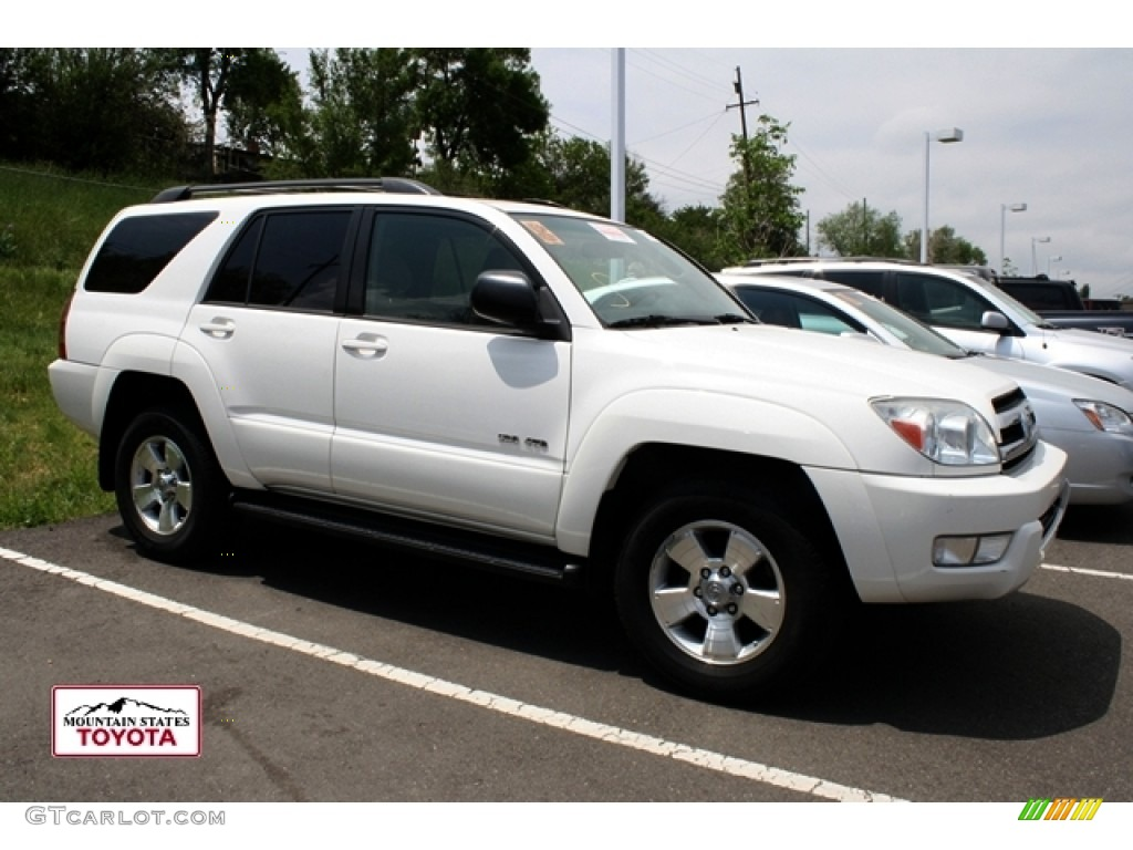 2005 Natural White Toyota 4runner Sr5 4x4 50379980 Gtcarlot Com Car Color Galleries