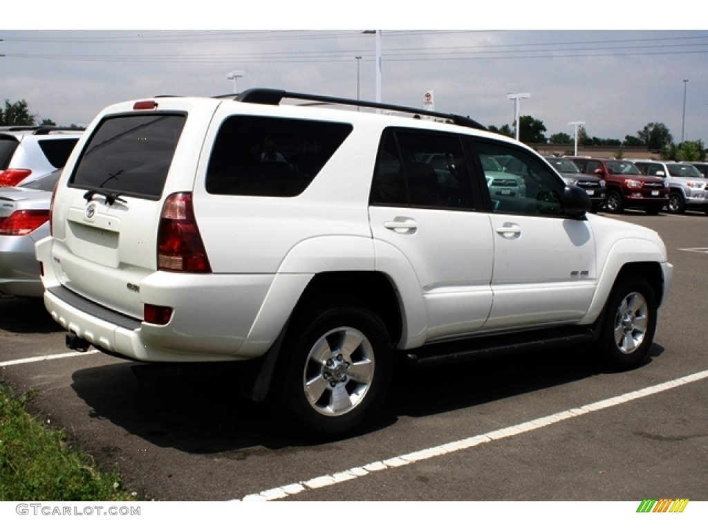 2005 Natural White Toyota 4runner Sr5 4x4 50379980 Photo 2 Gtcarlot Com Car Color Galleries