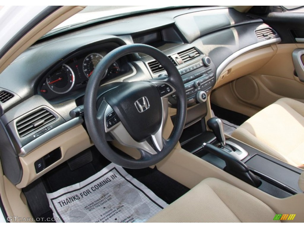 Gray Interior 2009 Honda Accord Ex Coupe Photo 50398686