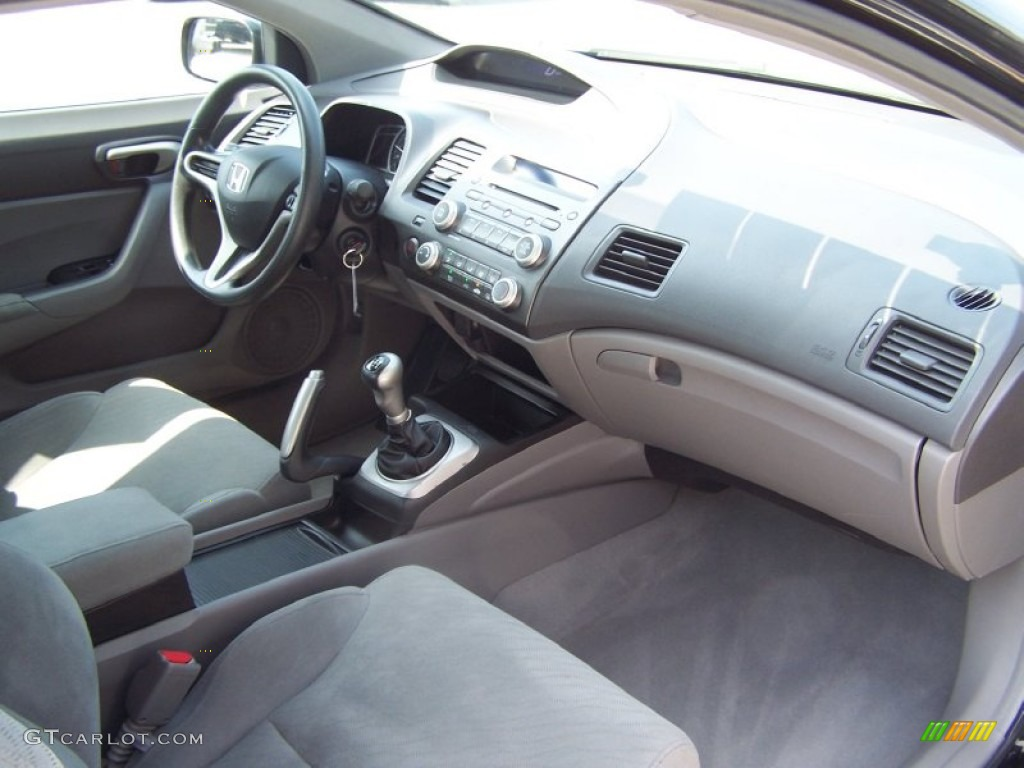 2009 honda civic lx coupe interior photo 50401936