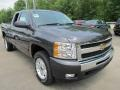 2011 Black Chevrolet Silverado 1500 LT Extended Cab 4x4  photo #5