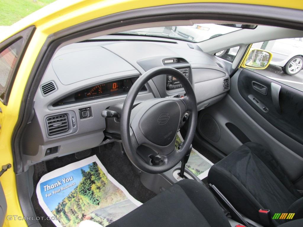 2003 electric yellow suzuki aerio sx awd sport wagon 50380574 photo 13 gtcarlot com car color galleries gtcarlot com