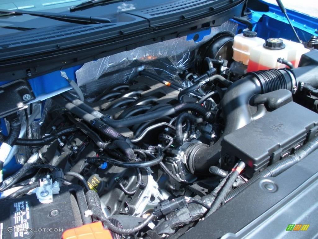 2011 ford f150 stx supercab 5 0 liter flex fuel dohc 32 valve ti vct v8 engine photo 50408890. Black Bedroom Furniture Sets. Home Design Ideas