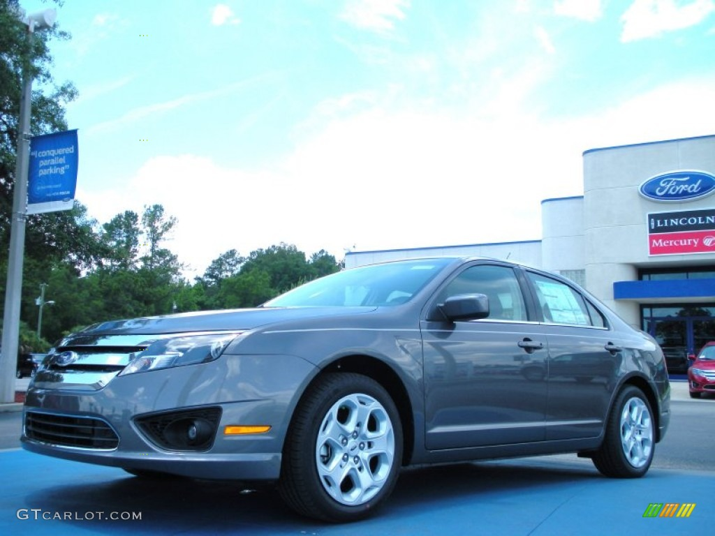 2011 Fusion SE - Sterling Grey Metallic / Charcoal Black photo #1