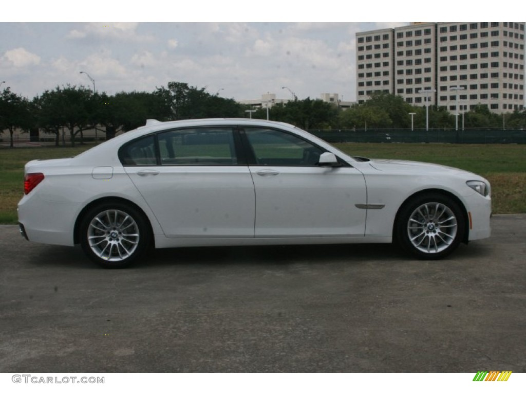 Alpine White 2012 BMW 7 Series 750Li Sedan Exterior Photo 50411980