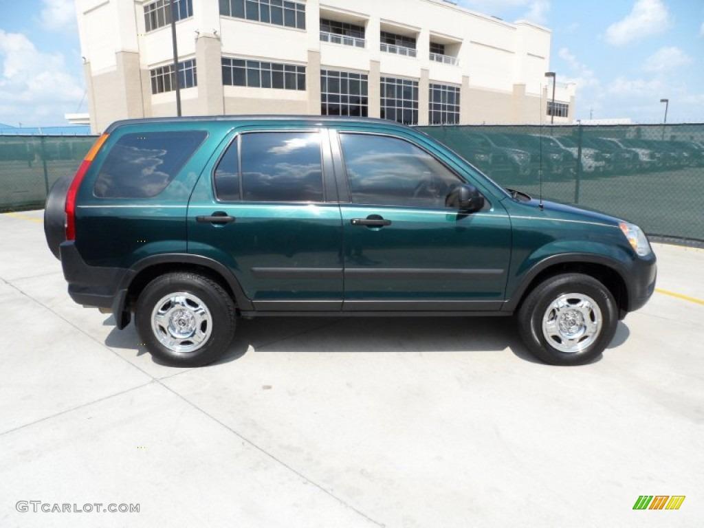 clover green pearl 2003 honda cr v lx exterior photo