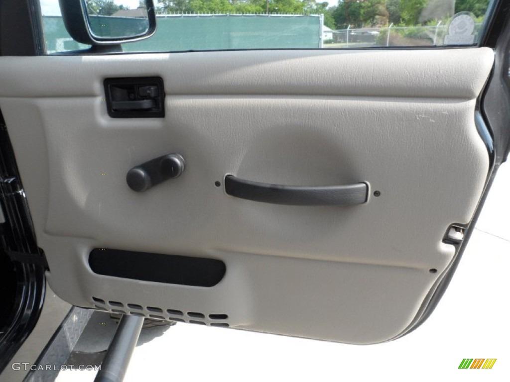 2006 Jeep Wrangler Sport 4x4 Golden Eagle Dark Slate Gray
