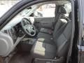 2011 Black Chevrolet Silverado 1500 LS Regular Cab 4x4  photo #11