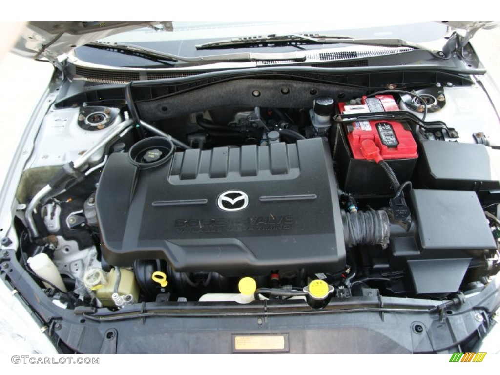 2004 mazda mazda6 i sport sedan 2 3 liter dohc 16 valve 4 cylinder engine photo 50431408. Black Bedroom Furniture Sets. Home Design Ideas