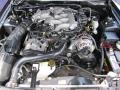 2003 True Blue Metallic Ford Mustang V6 Coupe  photo #28
