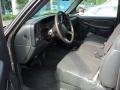 2002 Light Pewter Metallic Chevrolet Silverado 1500 LS Extended Cab  photo #5