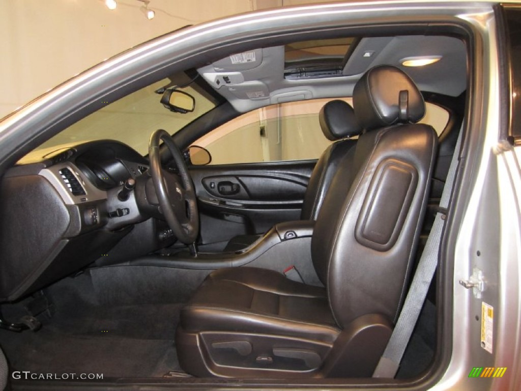 Ebony Interior 2006 Chevrolet Monte Carlo Ss Photo 50441455