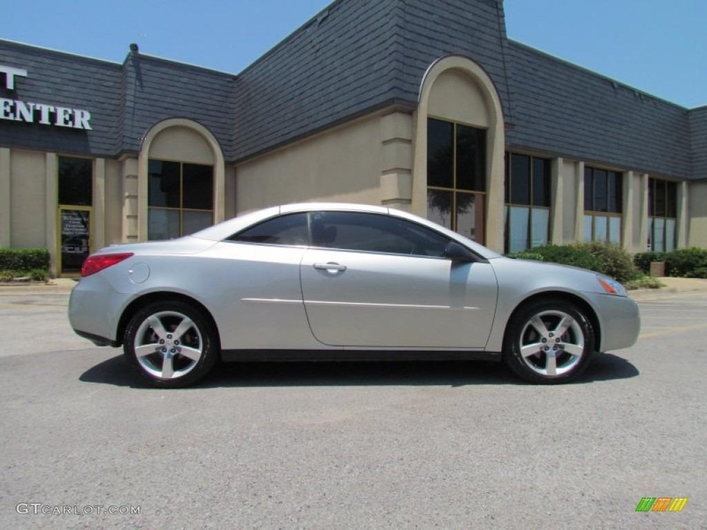 Liquid Silver Metallic 2006 Pontiac G6 Gt Convertible