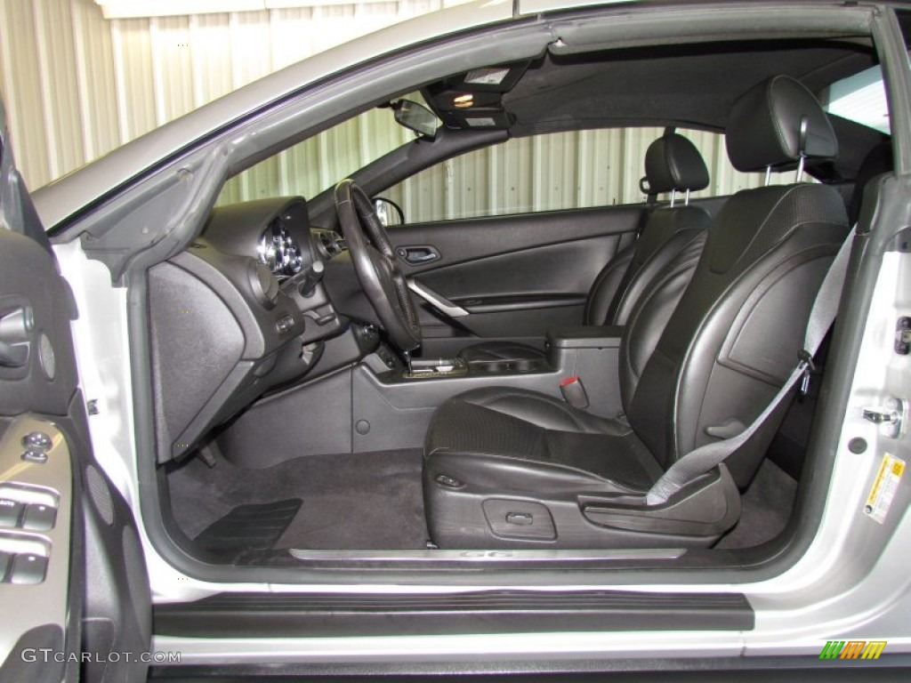 Ebony Interior 2006 Pontiac G6 Gt Convertible Photo 50445929
