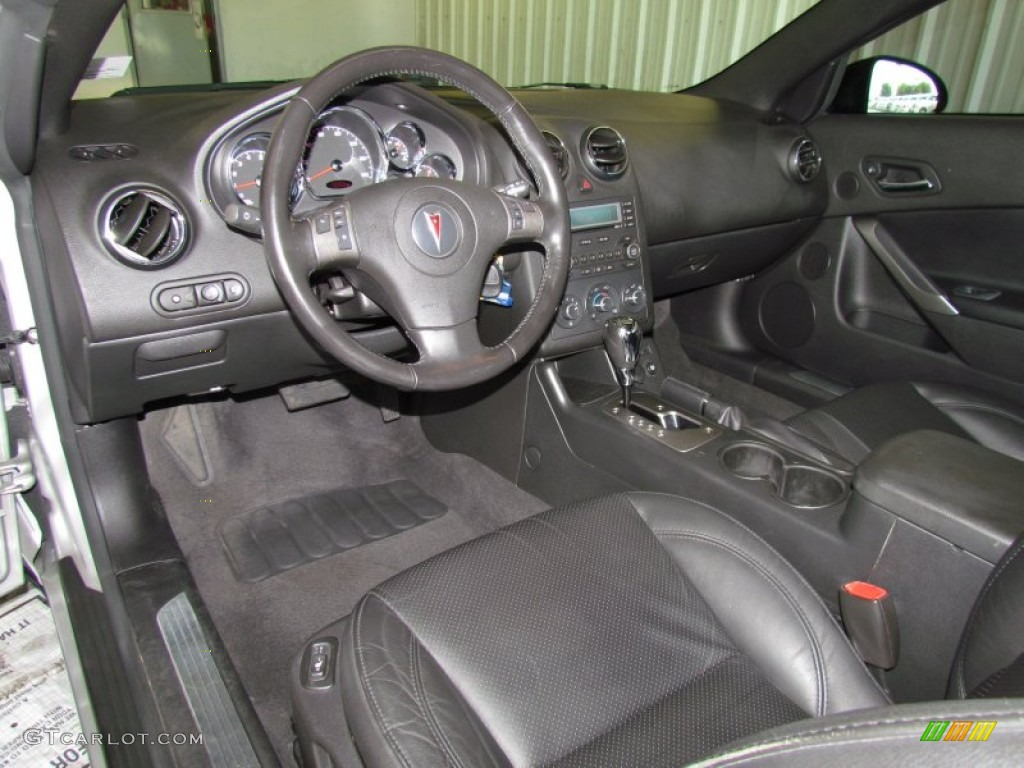 Ebony Interior 2006 Pontiac G6 Gt Convertible Photo 50446006