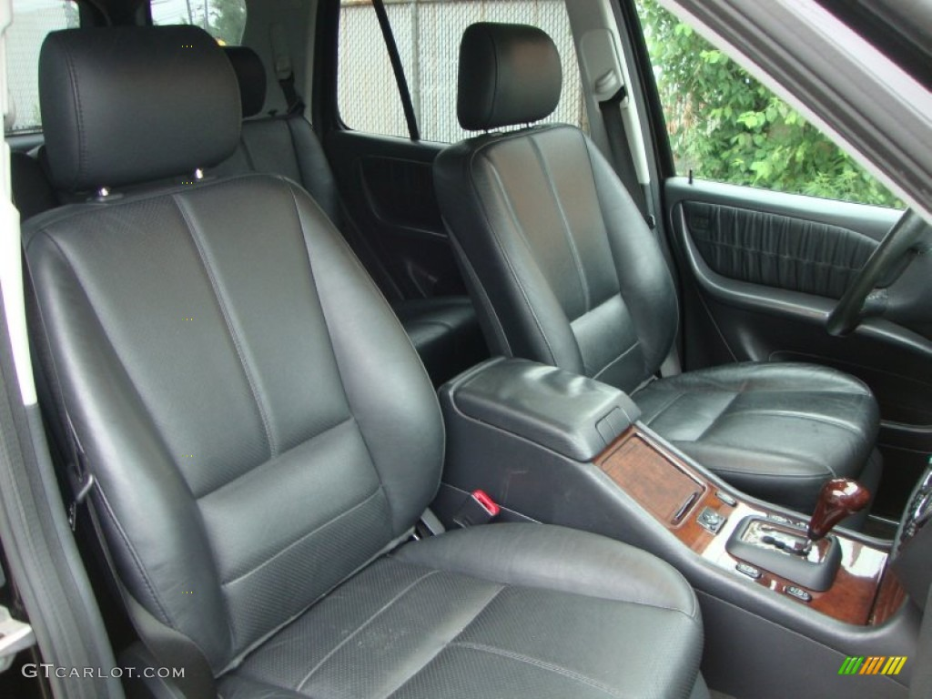 Charcoal Interior 2004 Mercedes Benz Ml 500 4matic Photo 50448809 Gtcarlot Com