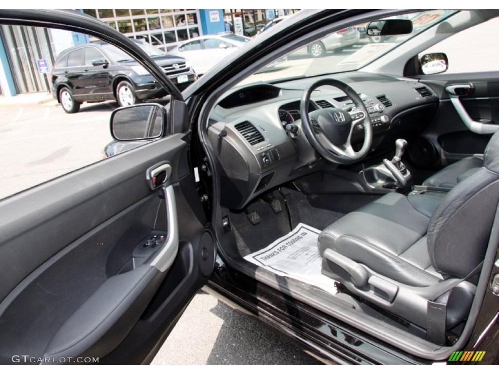 Elegant 2008 Honda Civic EX L Coupe Interior Photo #50452373