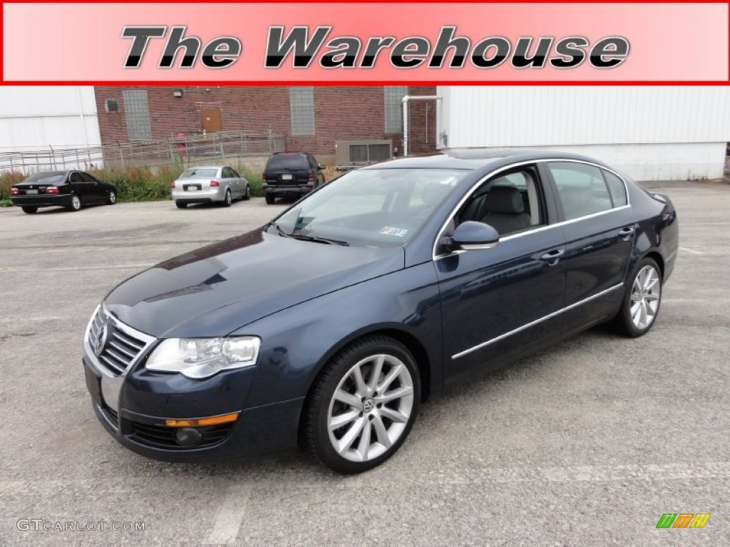 2006 blue graphite metallic volkswagen passat 3 6 4motion. Black Bedroom Furniture Sets. Home Design Ideas