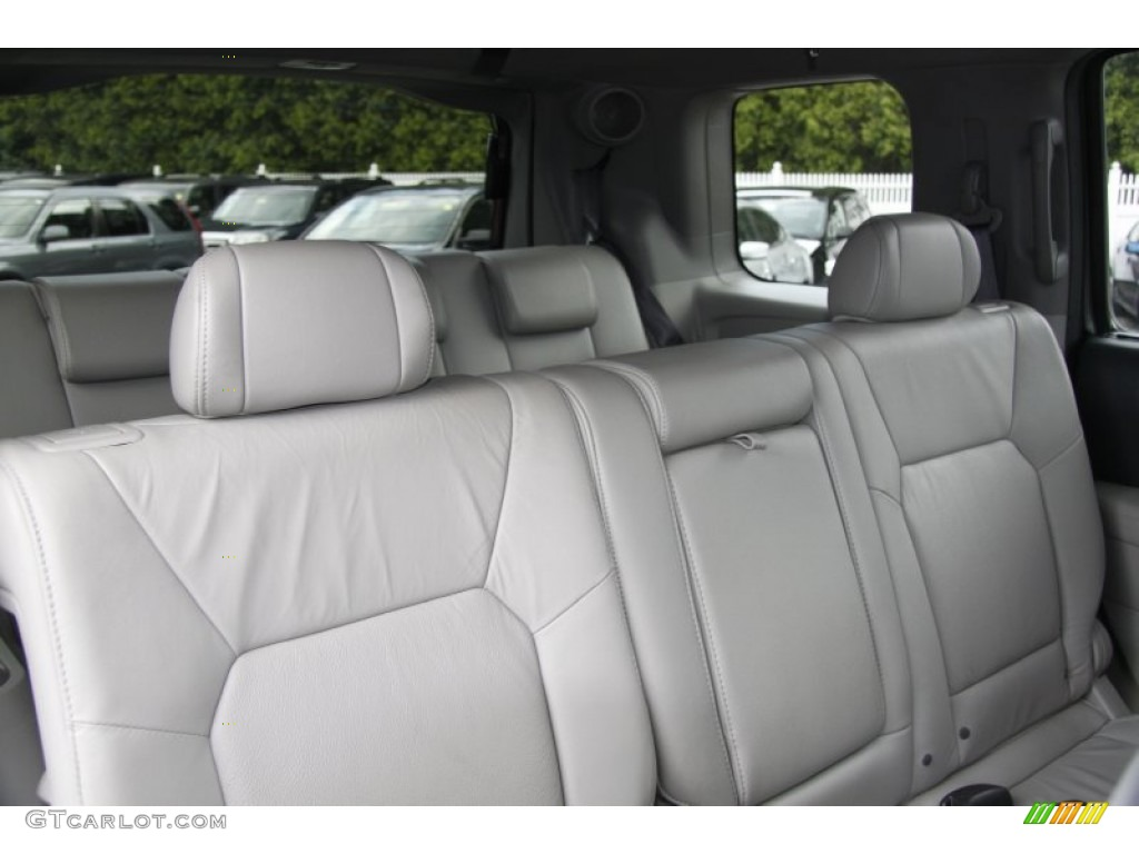 gray interior 2011 honda pilot touring 4wd photo 50453240. Black Bedroom Furniture Sets. Home Design Ideas