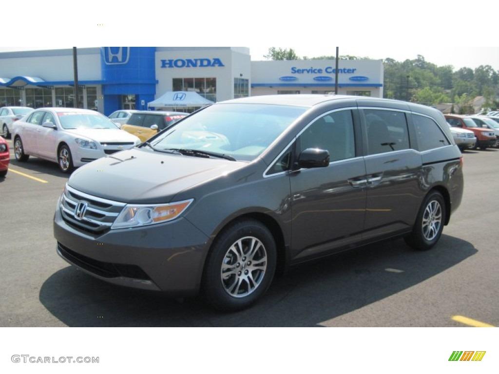 2011 Smoky Topaz Metallic Honda Odyssey Ex L 50443363