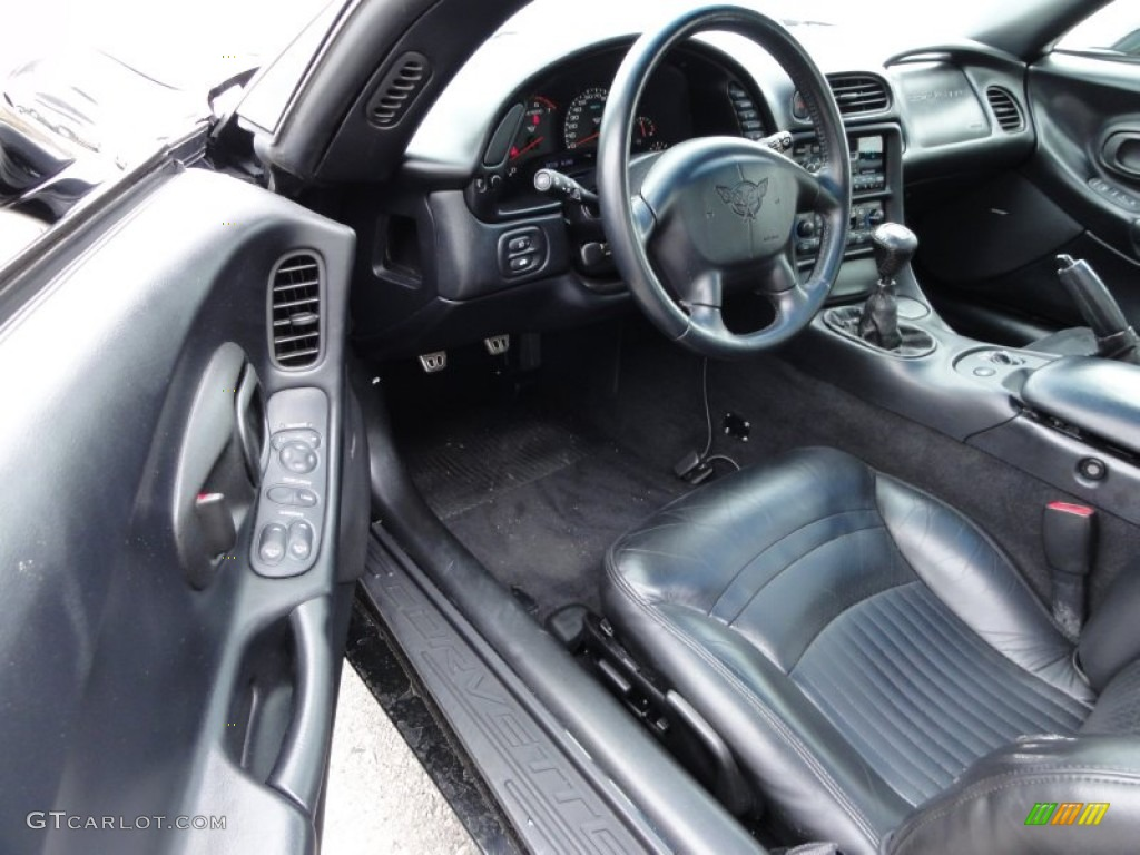 Black interior 1997 chevrolet corvette coupe photo 50454989 1992 corvette interior parts