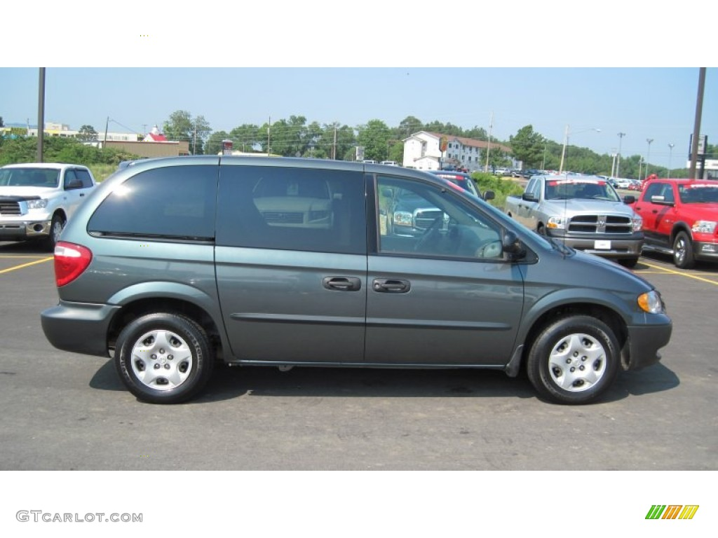 onyx green pearl 2002 dodge caravan se exterior photo. Black Bedroom Furniture Sets. Home Design Ideas
